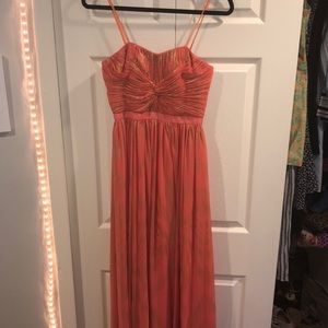 WORN ONCE Aqua Dresses Strapless Formal Gown